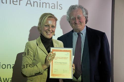 Sara Turetta al Marsh Award