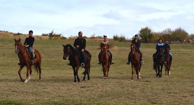 A cavallo in Armenia